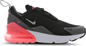 Buty sportowe dziecięce Nike sznurowane ze skóry