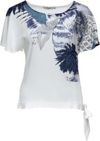 Bluzka Desigual z krótkim rękawem w stylu casual