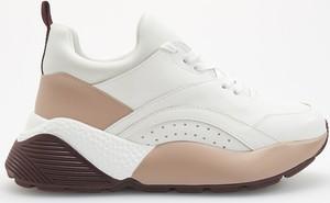 Srebrne buty sportowe Reserved sznurowane w sportowym stylu