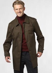 Brązowy płaszcz męski Nerve
