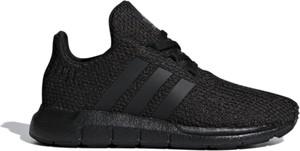 Czarne buty sportowe dziecięce Adidas z dzianiny