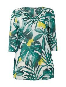 Bluzka Samoon z szyfonu w stylu casual