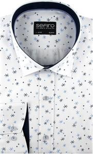 Koszula Sefiro w młodzieżowym stylu z długim rękawem