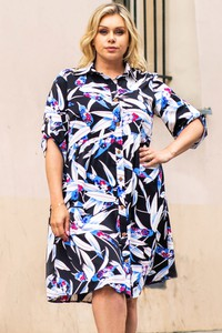 Sukienka KARKO oversize mini