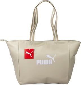 Torba sportowa Puma ze skóry ekologicznej