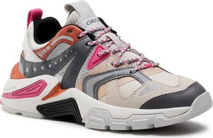 Buty sportowe dziecięce Geox dla dziewczynek sznurowane