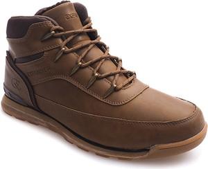 Brązowe buty zimowe gemre