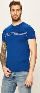 T-shirt Tommy Hilfiger z dzianiny z krótkim rękawem
