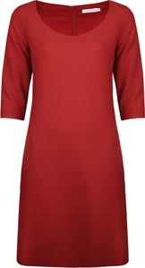 Sukienka Fracomina Sukienka w stylu casual z długim rękawem z tkaniny