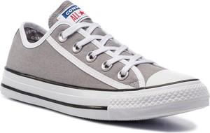Trampki Converse all star z płaską podeszwą sznurowane