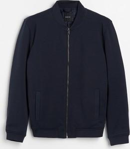 Granatowa bluza Reserved w stylu casual
