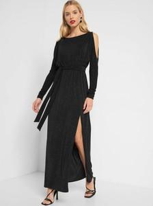 Czarna sukienka ORSAY z długim rękawem