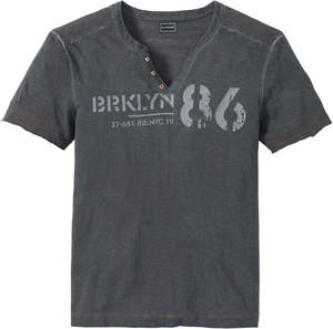 Granatowy t-shirt bonprix RAINBOW w młodzieżowym stylu
