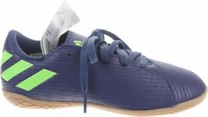 Niebieskie buty sportowe dziecięce Adidas sznurowane