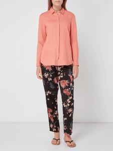 5c166ec7fa Różowa bluzka Esprit z lnu