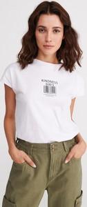 T-shirt Reserved w młodzieżowym stylu z nadrukiem