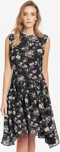 Sukienka khujo z okrągłym dekoltem mini bez rękawów