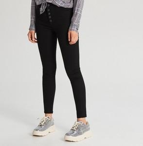 Czarne spodnie Cropp w stylu casual