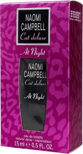 Naomi Campbell, Cat Deluxe At Night, woda toaletowa, 15 ml
