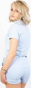 Niebieski Olika z bawełny w stylu casual