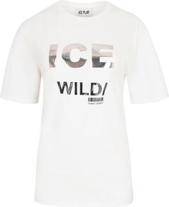 T-shirt Ice Play z krótkim rękawem z okrągłym dekoltem