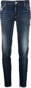 Niebieskie jeansy Dsquared2