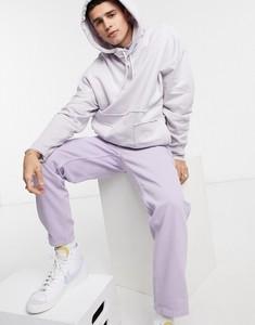 Fioletowa bluza Asos z dresówki w młodzieżowym stylu