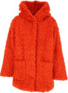 Pomarańczowy płaszcz dziecięcy Kenzo