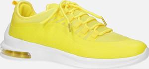 Żółte buty sportowe Casu