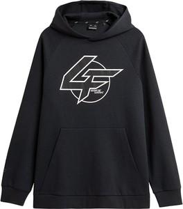 Czarna bluza 4F w młodzieżowym stylu