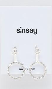 Sinsay - Kolczyki - Srebrny