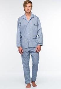 Błękitna piżama Softcotton