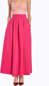 Różowa spódnica Gate w stylu casual