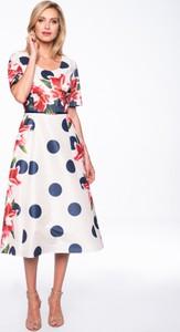 Sukienka POTIS & VERSO z długim rękawem