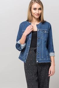 Niebieska kurtka Monnari z jeansu krótka