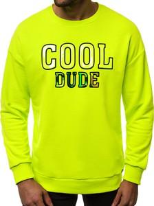 Bluza Ozonee z bawełny w młodzieżowym stylu