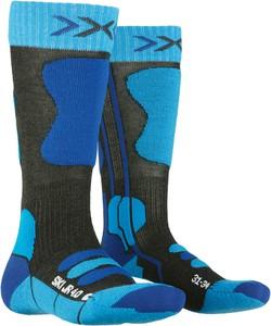 Niebieskie skarpetki X Socks