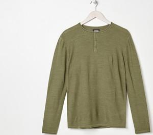 Zielony sweter Sinsay