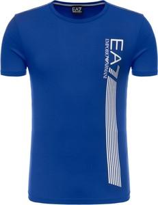 T-shirt EA7 Emporio Armani w sportowym stylu