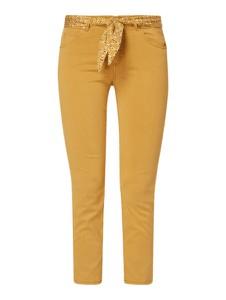 Żółte spodnie Marc O'Polo w stylu casual