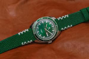 Zegarek LIP Marinier Automatic 671370 + pasek ze skóry płaszczki
