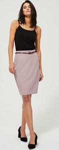 Różowa spódnica Moodo mini