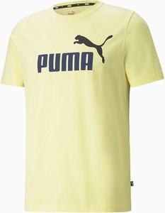 T-shirt Puma w sportowym stylu z krótkim rękawem