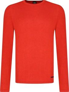 Czerwony sweter BOSS Casual