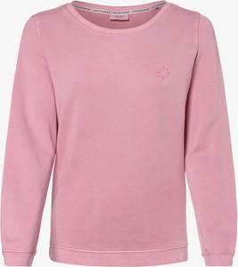 Różowa bluza Marc O'Polo DENIM krótka w stylu casual z bawełny