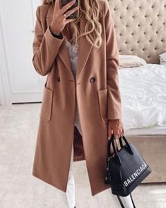 Brązowy płaszcz Kendallme