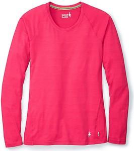 Różowy t-shirt Smartwool