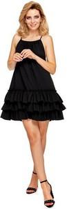 Sukienka Ooh la la z okrągłym dekoltem