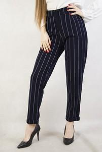 Granatowe spodnie Olika