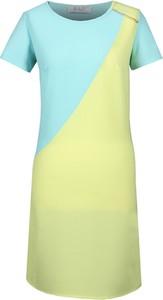 Sukienka Fokus w stylu casual z krótkim rękawem midi